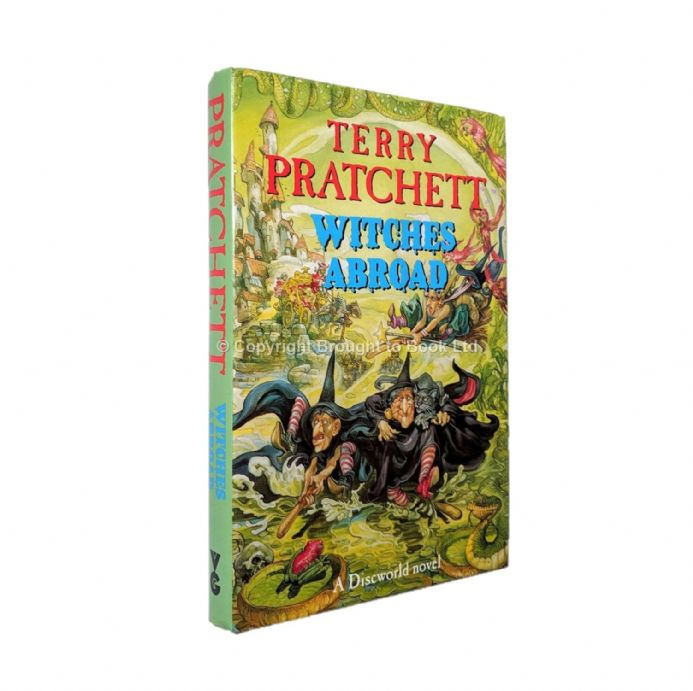 Witches Abroad Signed by Terry Pratchett​​​​​​​ First Edition First Impression Victor Gollancz 1991